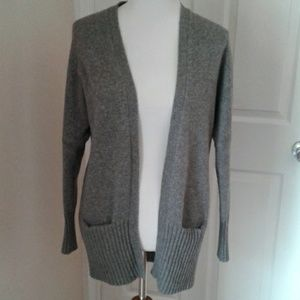 J. Crew Dream Yoga Cardigan Wool/ Cashmere/Nylon